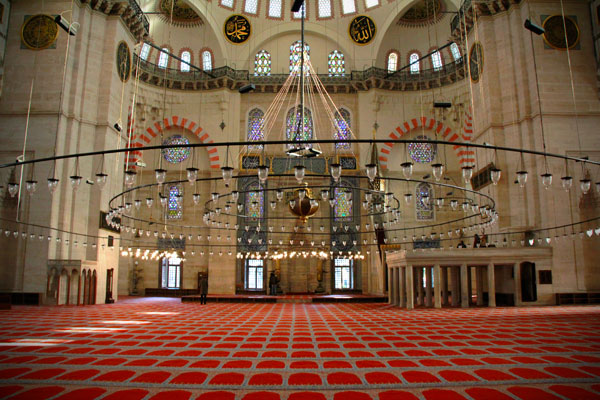 Mesquita Süleymaniye - Istanbul - Fui e Vou Voltar - Alessandro Paiva