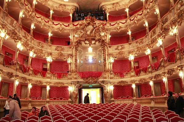 Teatro Cuvilliés, na Residência de Munique - München - Fui e Vou Voltar - Alessandro Paiva