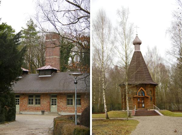 Crematório e Capela Ortodoxa Russa no Campo de Concentração de Dachau - Munique - Alessandro Paiva