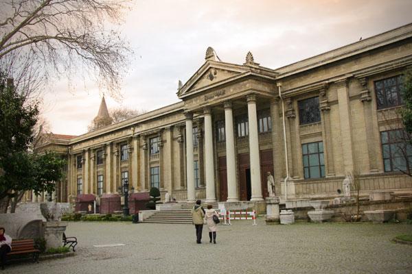 Prédio do Museu de Antiguidades Orientais - Istanbul - Fui e Vou Voltar - Alessandro Paiva