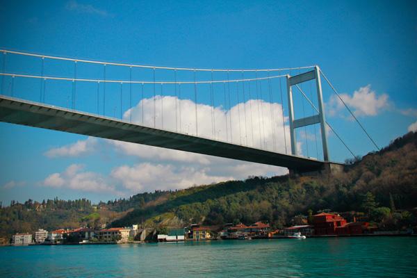 Ponte Fatih Sultan Mehmet - Istanbul - Fui e Vou Voltar - Alessandro Paiva