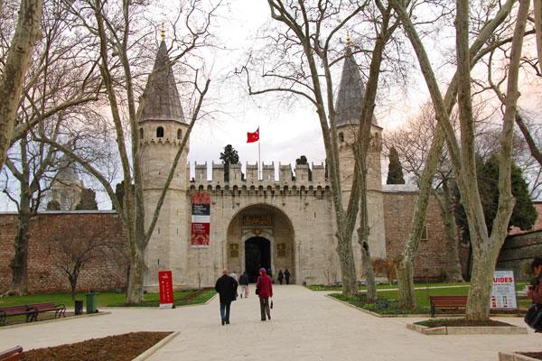 Portão do Palácio de Topkapı - Istanbul - Fui e Vou Voltar - Alessandro Paiva
