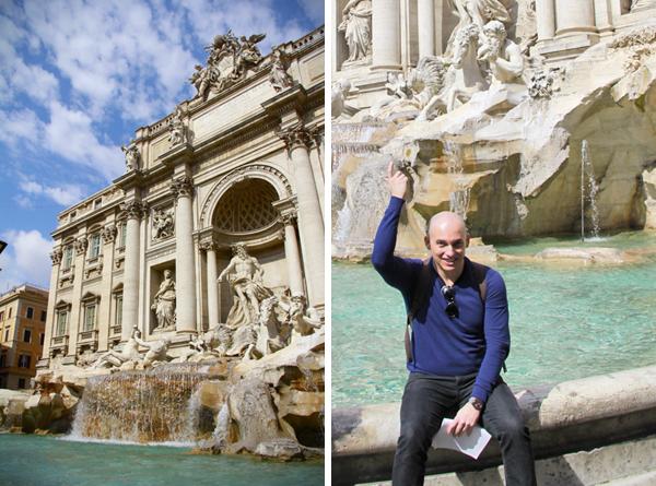 Fontana di Trevi - Roma - Fui e Vou Voltar - Alessandro paiva