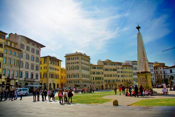 Piazza di Santa Maria Novella - Firenze - Fui e Vou Voltar - Alessandro Paiva
