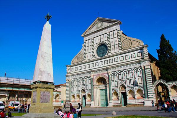 Basilica di Santa Maria Novella - Firenze - Fui e Vou Voltar - Alessandro Paiva