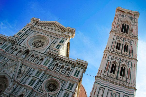 Catedral de Santa Maria del Fiore e o Campanário de Giotto - Firenze - Fui e Vou Voltar - Alessandro Paiva