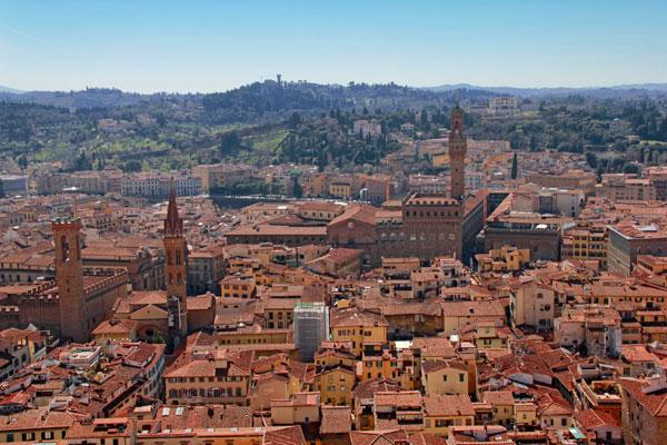 Florença vista do domo da Catedral de Santa Maria del Fiore - Fui e Vou Voltar - Alessandro Paiva