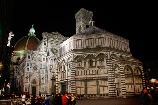 Battistero di San Giovanni e Catedral de Santa Maria del Fiore - Firenze - Fui e Vou Voltar - Alessandro Paiva