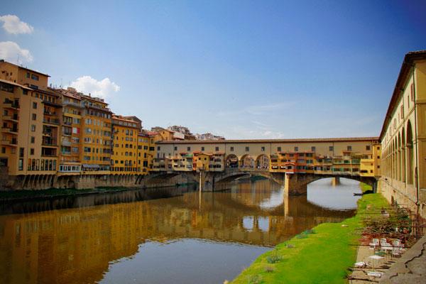 Rio Arno, com Ponte Vecchio ao Fundo - Firenze - Fui e Vou Voltar - Alessandro Paiva