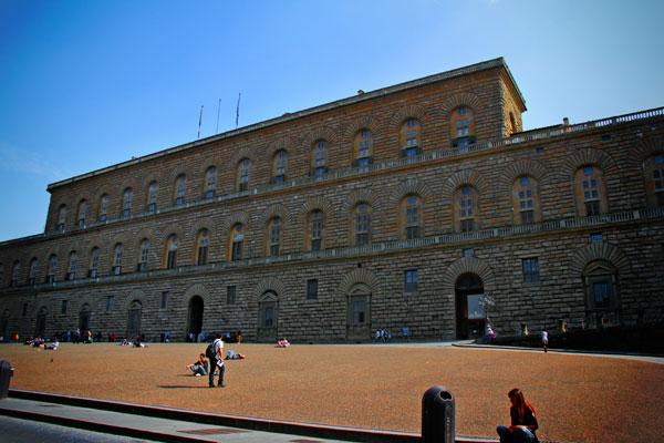 Palazzo Pitti - Firenze - Fui e Vou Voltar - Alessandro Paiva