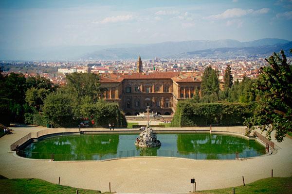 Bacino del Nettuno, no Jardim de Boboli - Firenze - Fui e Vou Voltar - Alessandro Paiva