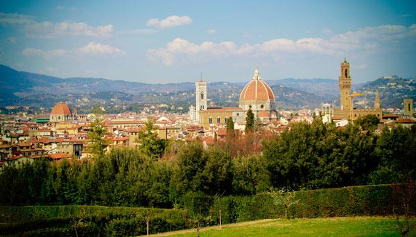 Florença vista do Jardim de Boboli - Firenze - Fui e Vou Voltar - Alessandro Paiva