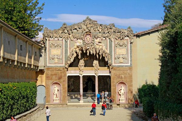 Grotta di Buontalenti, nos Jardins de Boboli - Firenze - Fui e Vou Voltar - Alessandro Paiva