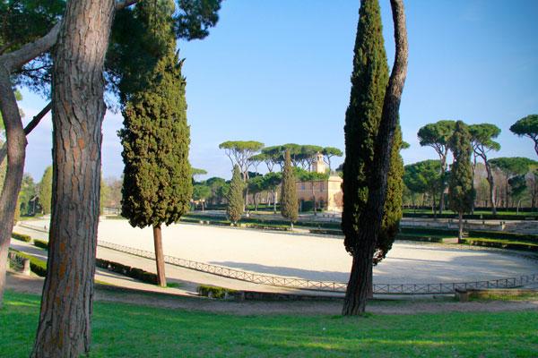 Piazza di Siena, na Villa Borghese - Roma - Fui e Vou Voltar - Alessandro Paiva