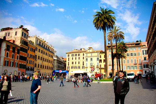 Piazza di Spagna - Roma - Fui e Vou Voltar - Alessandro Paiva