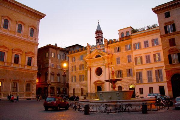 Piazza Farnese - Roma - Fui e Vou Voltar - Alessandro Paiva
