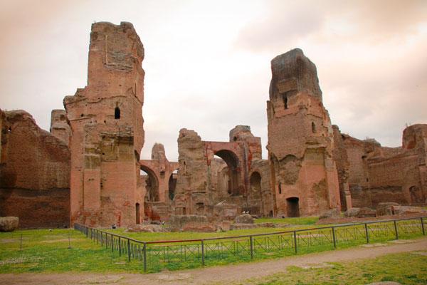 Ruínas das Termas de Caracalla - Roma - Fui e Vou Voltar - Alessandro Paiva