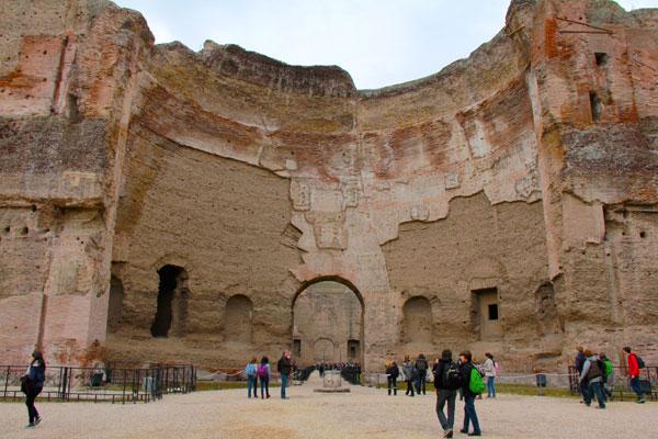 Termas de Caracalla - Roma - Fui e Vou Voltar - Alessandro Paiva