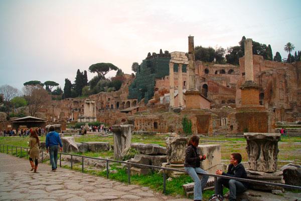 Fórum Romano - Roma - Fui e Vou Voltar - Alessandro Paiva