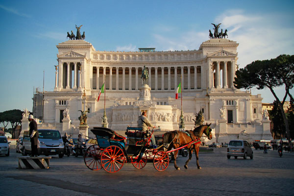 Monumento em homenagem a Vittorio Emanuele II - Roma - Fui e Vou Voltar - Alessandro Paiva