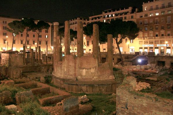 Largo di Torre Argentina - Roma - Fui e Vou Voltar - Alessandro Paiva
