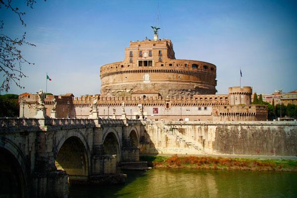 Castelo de Sant'Angelo - Roma - Fui e Vou Voltar - Alessandro paiva
