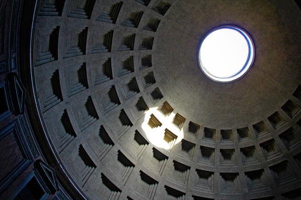 Óculo da cúpula do Panteão de Roma - Fui e Vou Voltar - Alessandro Paiva