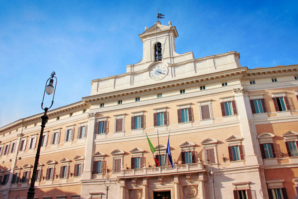 Palazzo Montecitorio - Roma - Fui e Vou Voltar - Alessandro Paiva