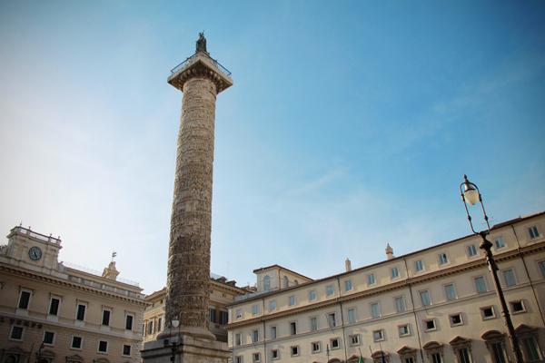 Palazzo Chigi, na Piazza Colonna - Roma - Fui e Vou Voltar - Alessandro Paiva