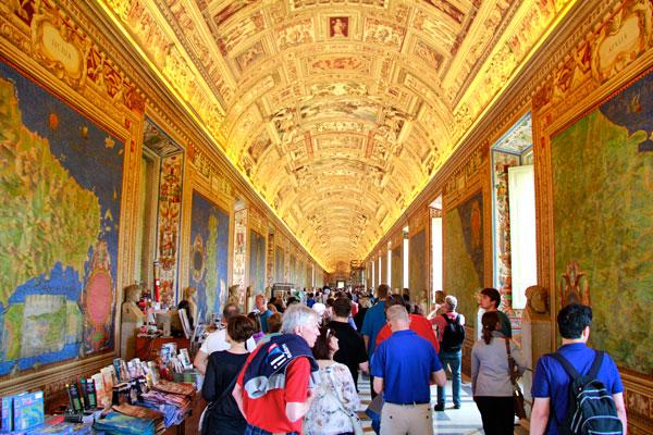 Galeria dos Mapas - Roma - Fui e Vou Voltar - Alessandro Paiva