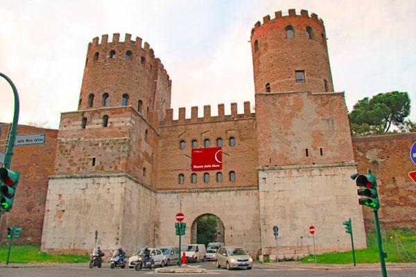 Porta de São Sebastião - Roma - Fui e Vou Voltar - Alessandro Paiva