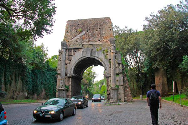 Arco de Druso - Roma - Fui e Vou Voltar - Alessandro Paiva