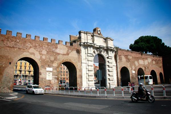 Porta de San Giovanni  - Roma - Fui e Vou Voltar - Alessandro Paiva