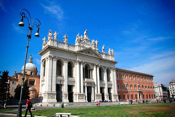 Basílica de São João de Latrão - Roma - Fui e Vou Voltar - Alessandro Paiva