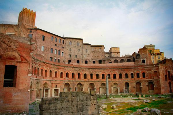 Mercado de Trajano - Roma - Fui e Vou Voltar - Alessandro Paiva