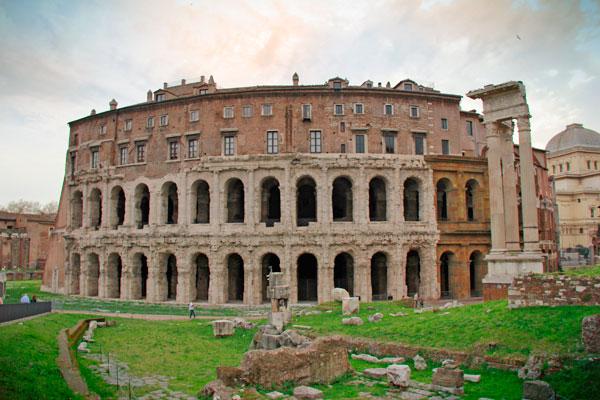 Teatro de Marcelo - Roma - Fui e Vou Voltar - Alessandro Paiva