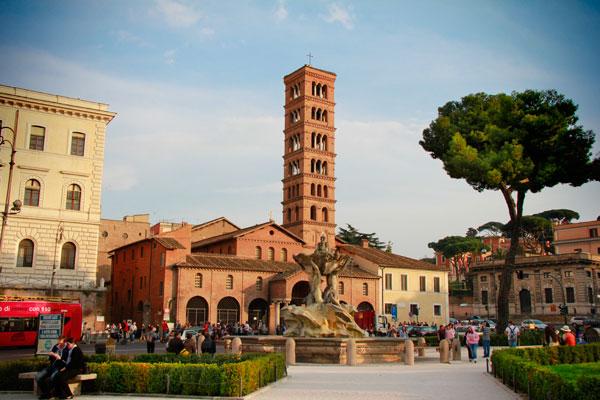 Igreja de Santa Maria in Cosmedin - Roma - Fui e Vou Voltar - Alessandro Paiva