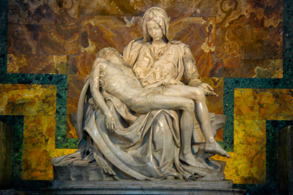 Pietà, de Michelangelo - Roma - Fui e Vou Voltar - Alessandro Paiva