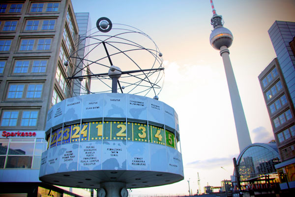 Weltzeituhr (Relógio mundial) - Berlin - Fui e Vou Voltar - Alessandro Paiva