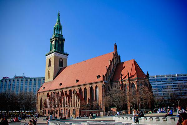 Marienkirche - Berlin - Fui e Vou Voltar - Alessandro Paiva
