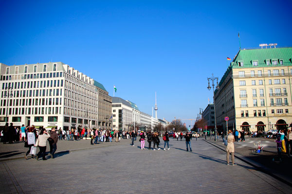 Pariser Platz - Berlin - Fui e Vou Voltar - Alessandro Paiva