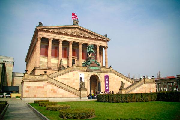 Alte Nationalgalerie (Antiga Galeria Nacional) - Berlin - Fui e Vou Voltar - Alessandro Paiva