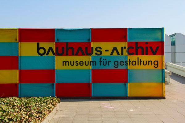 Bauhaus-Archiv - Berlin - Fui e Vou Voltar