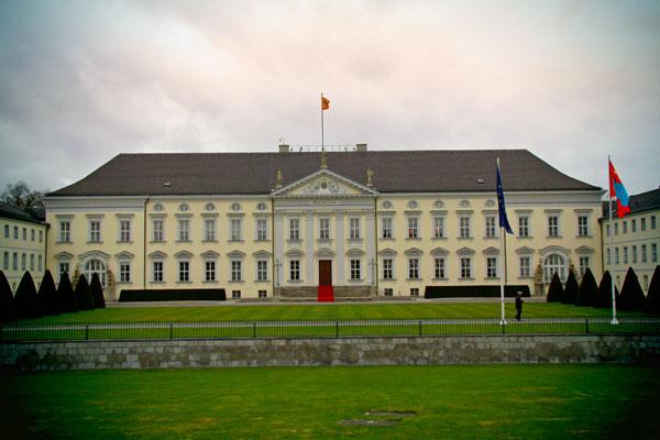 Schloss Bellevue (Palácio de Bellevue) - Berlin - Fui e Vou Voltar - Alessandro Paiva