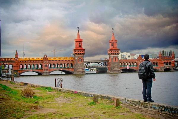 Ponte Oberbaumbrücke - Berlin - Fui e Vou Voltar - Alessandro Paiva