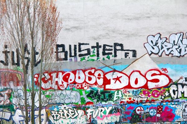 Mural Oranienburger - Berlin - Fui e Vou Voltar - Alessandro Paiva
