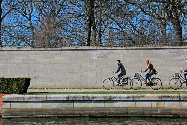 Ciclistas Spree - Berlin - Fui e Vou Voltar - Alessandro Paiva