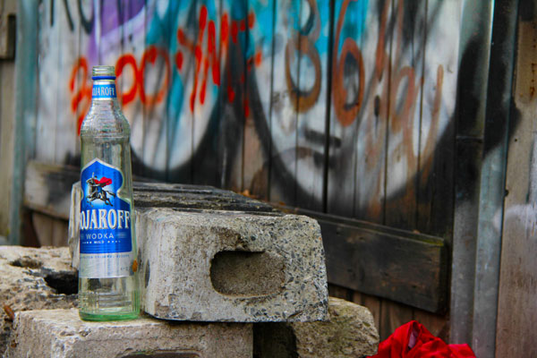 Grafite e vodka