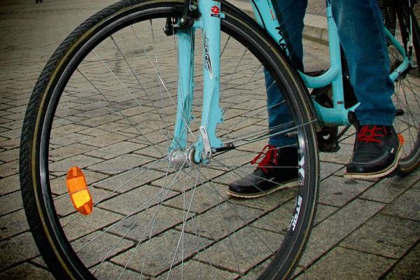 Bicicleta azul - Berlin - Fui e Vou Voltar - Alessandro Paiva