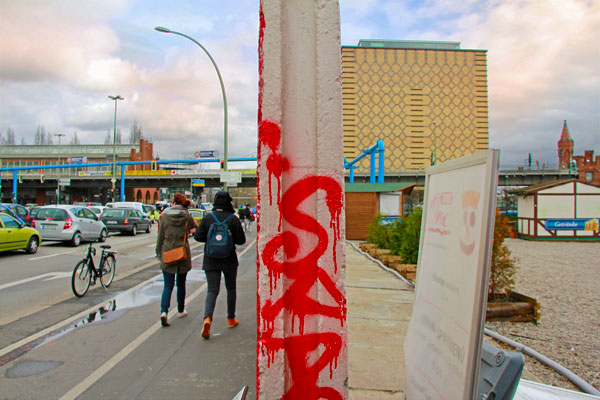 Muro de Berlim - Berlin - Fui e Vou Voltar - Alessandro Paiva